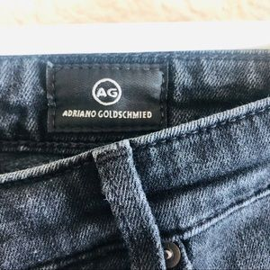 Ag Adriano Goldschmied Jeans - AG Jeans | Legging Ankle Emerse Wash Black 28